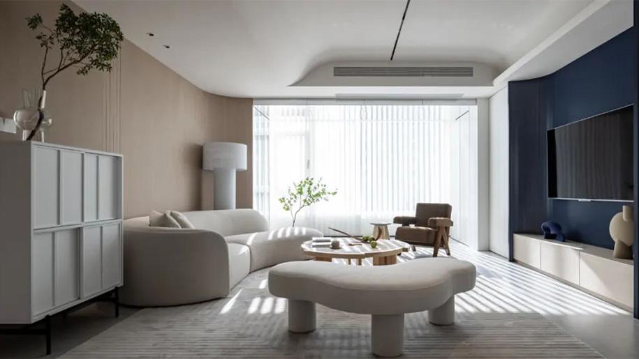 现代美式 | 嘉禾宁波分公司案例实拍,自在优雅空间的温暖时光!