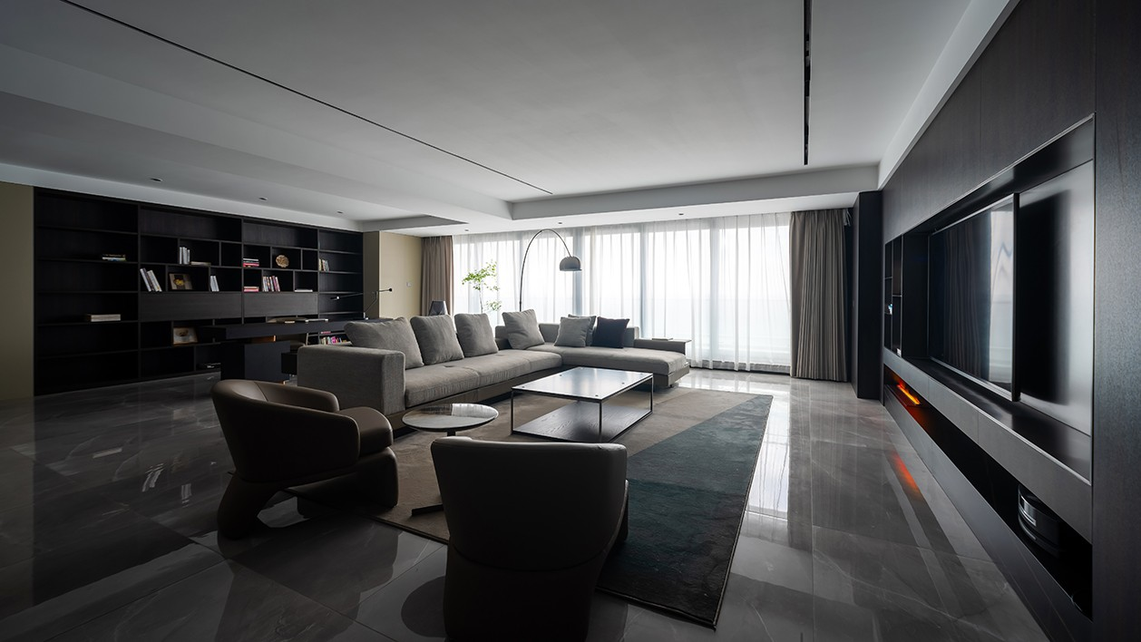 300m²极简大平层,精致优雅、纯粹有格调!